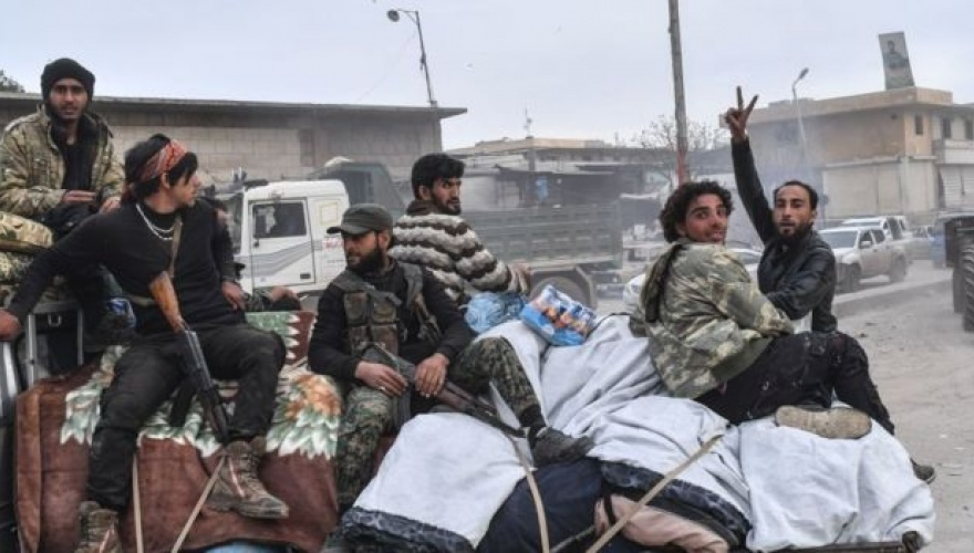 İdlib'teki cihatçılar Efrin'e yerleştiriliyor