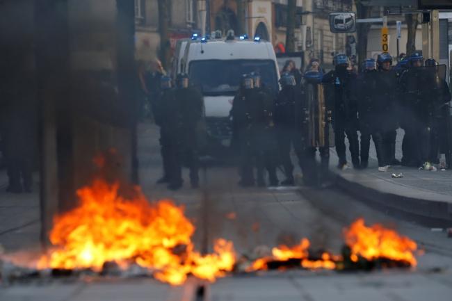 Fransa'da polis müdahalesi: 59 kişi gözaltına alındı