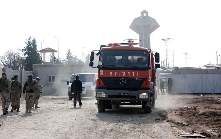 Rojava'nın Girê Sipî kentinde patlama