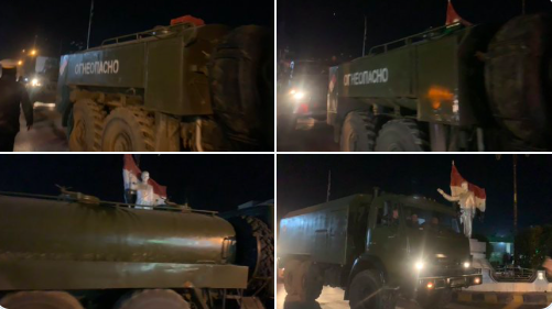 Qamişlo | Rusya büyük ve ağır bir askeri sevkiyatla kente giriş yaptı