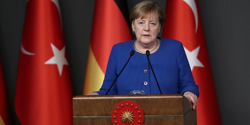 Merkel: İdlib'ten kaçanlara maddi desteğe hazırız...