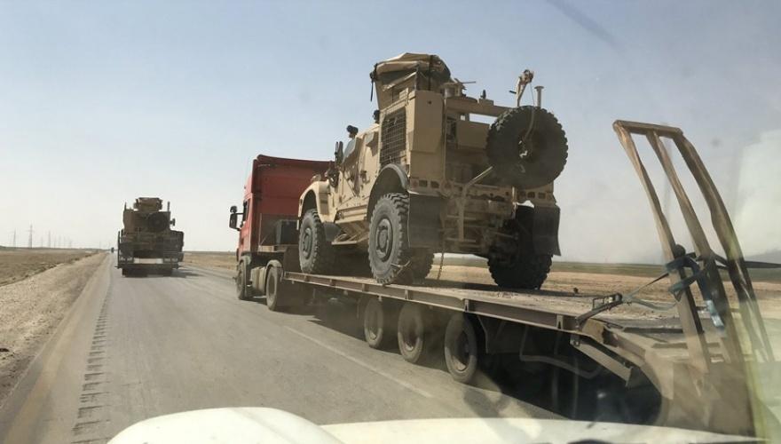 ABD, Rojava'daki petrol kuyularına askeri sevkiyat yaptı