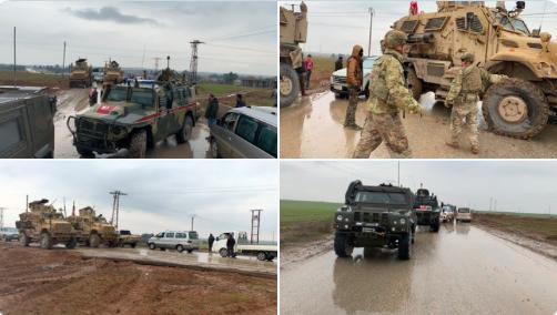 ABD güçleri, Rojava'da Rus güçlerine izin vermedi!