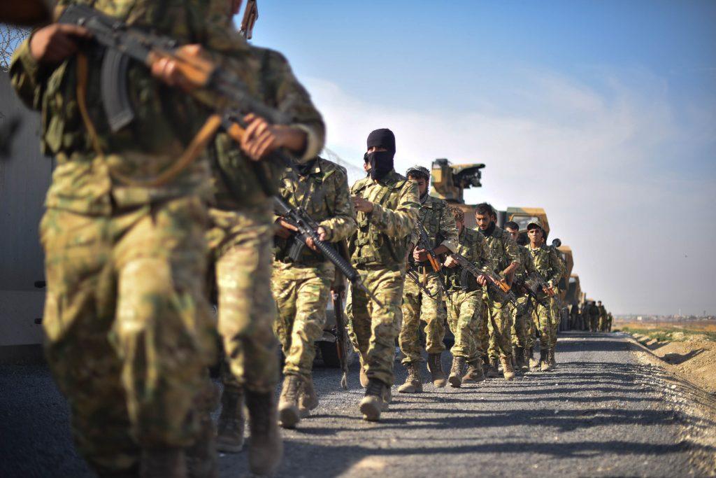 """""""Libya'ya giden ÖSO'cular silahları bırakıp İtalya'ya kaçıyor"""""""