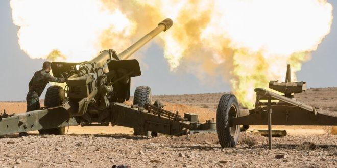 Esad rejimi ve SMO, Halep'i topçu atışları ile bombaladı