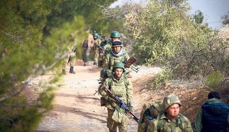 Türk askerleri Trablust'ta
