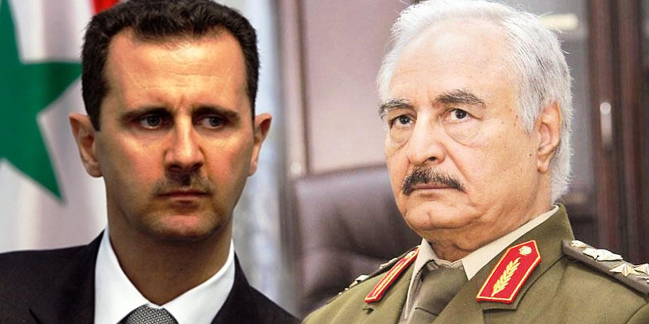 Şam, Hafter'i resmen tanıdı: Büyükelçilik verildi