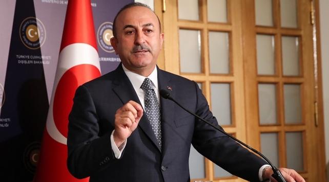 Çavuşoğlu'ndan İdlib açıklaması: Rejim ilerlemeye çalışırsa...