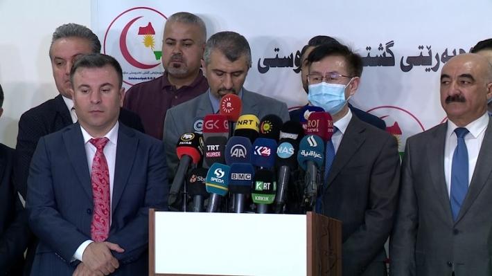 Kürdistan | Çin'den Süleymaniye 100 bin maske...