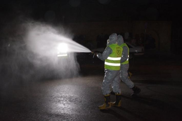 Erbil'de önlemler arttırılıyor: Tüm kent dezenfekte edilecek