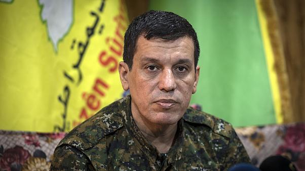 Rus heyeti Rojava'da Mazlum Kobane ile görüştü