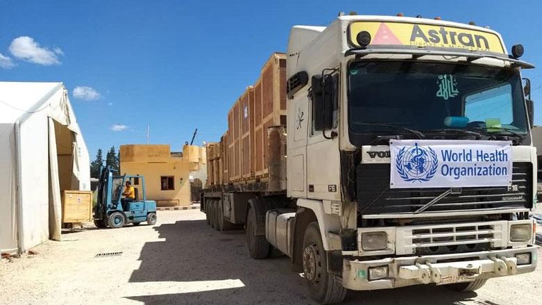 DSÖ'den Rojava'ya 30 tonluk tıbbi yardım
