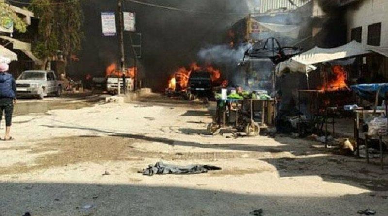 Efrin'de bombalı saldırı