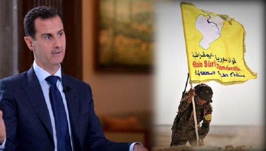Esad'tan Kürt güçlerine çağrı: Birlikte savaşalım