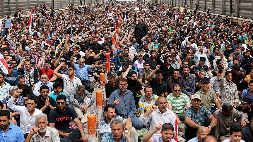 Allavi'ye karşı milyonlar Irak'ta sokağa iniyor