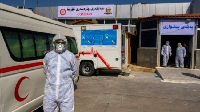 Kürdistan Bölgesi'nde 7 kişi daha salgına yakalandı