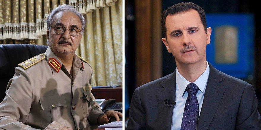 Hafter ile Şam rejiminden karşılıklı konsolosluk hamlesi