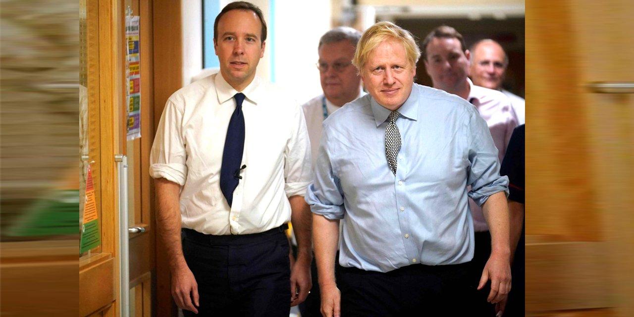 İngiltere Sağlık Bakanı da salgına yakalandı