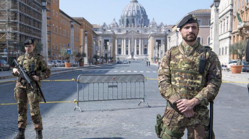 İtalya'da ordu devreye girdi...
