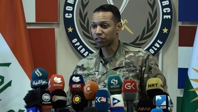 """""""ABD güçleri, Ayn Esed üssü ve Deyr ez Zor'a kaydırıldı"""""""