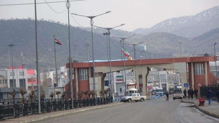 Kürdistan-İran Başmak Sınır Kapısı kapatıldı