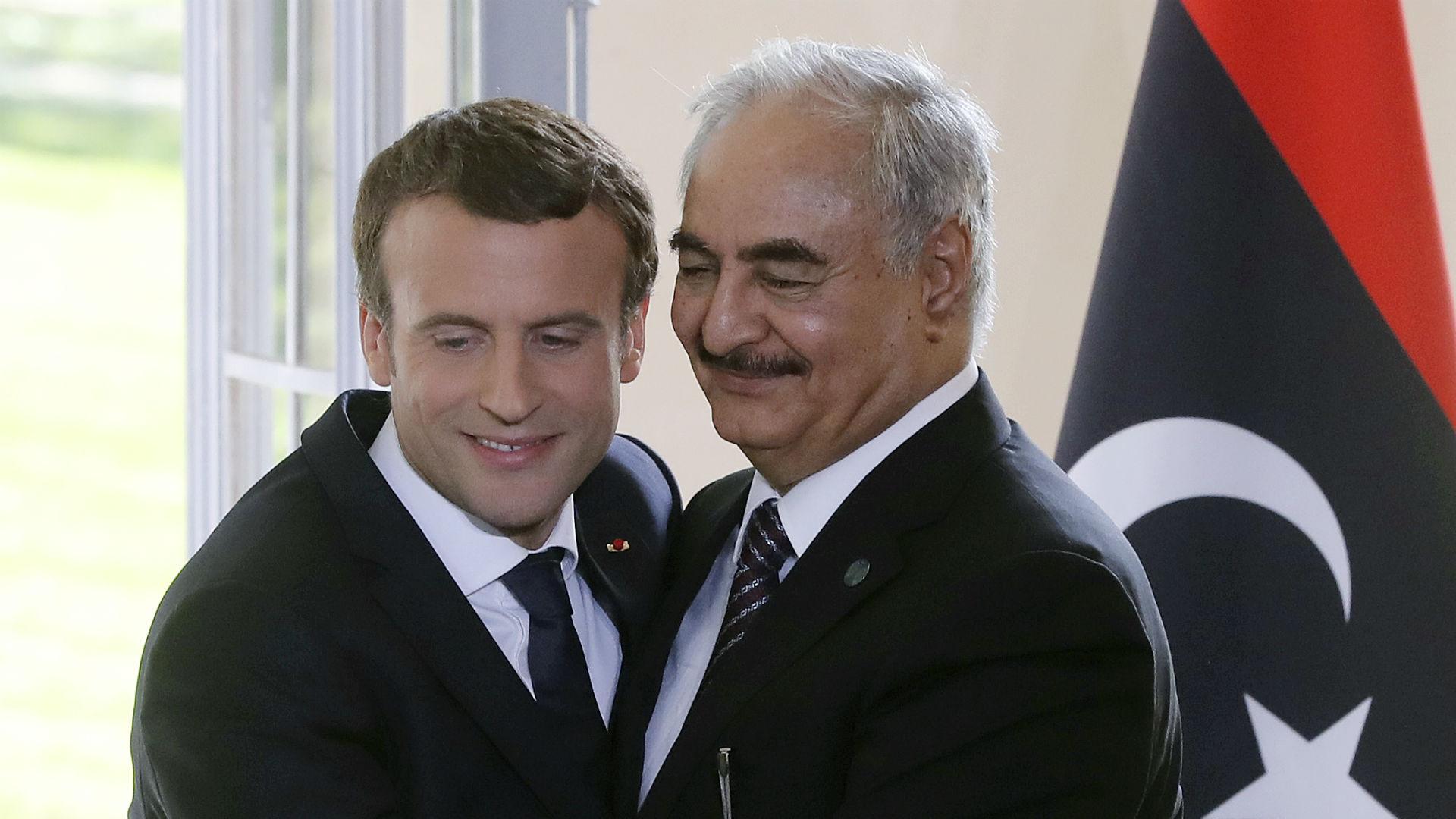 Elysee Sarayı: Macron ve Hafter, Libya meselesini görüştü