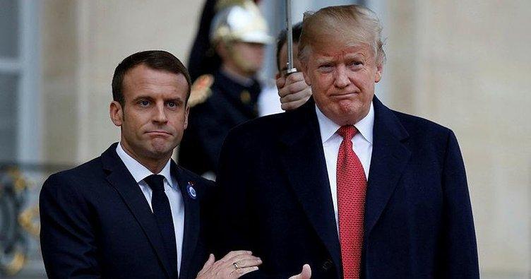 Trump ve Macron DSÖ'de yapısal reform için anlaştı
