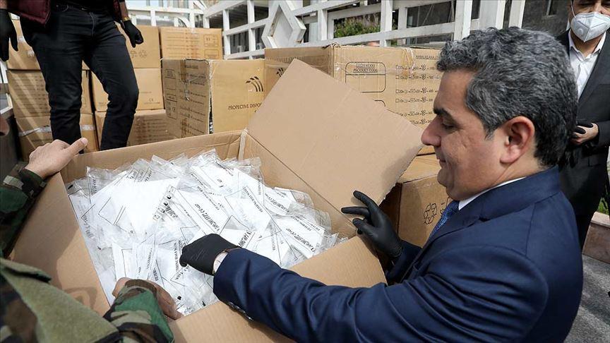 MHP, Erbil'e maske yardımı yapan Kızılay'a tepki gösterdi!