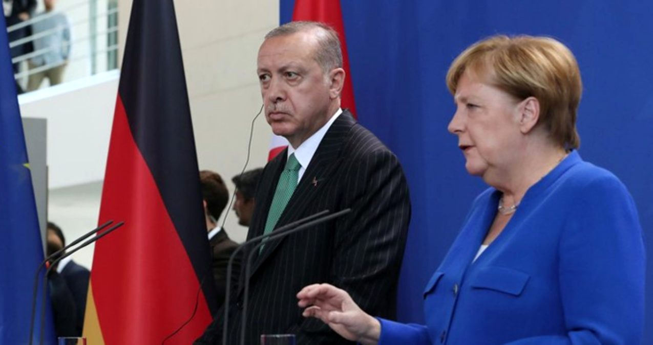 Erdoğan-Merkel, İdlib ve göçmenler konusunu görüştü