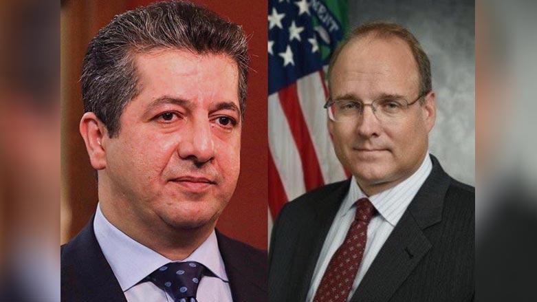 Mesrur Barzani, ABD'li yetkili ile salgını ve ekonomiyi görüştü