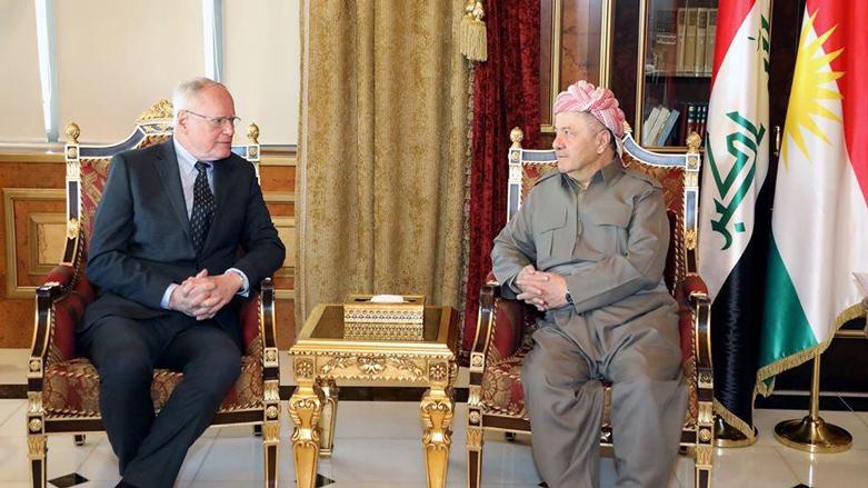 Başkan Barzani: Kürt halkı Suriye'de belirsizliğe terk edilemez