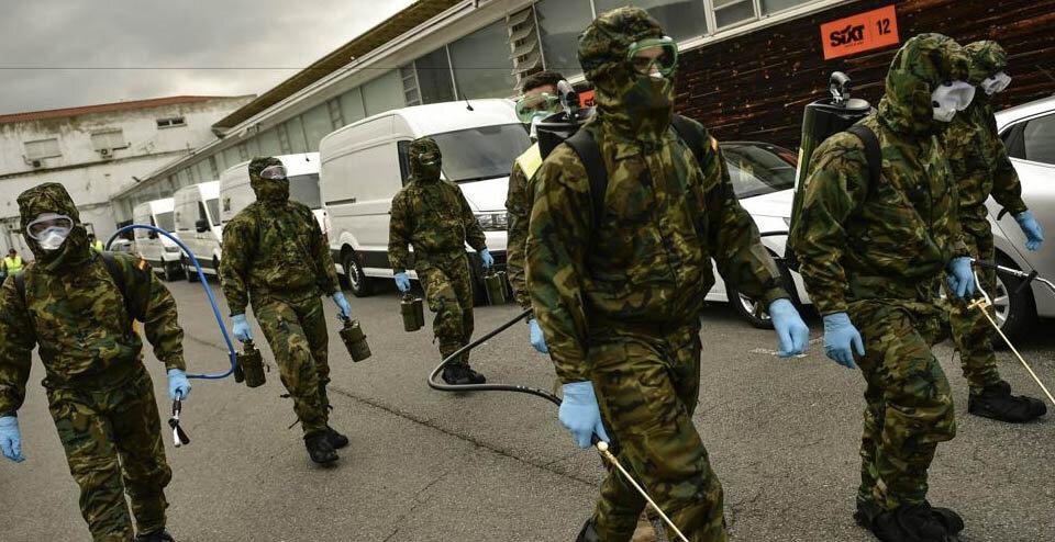 Covid-19 | İspanya'dan NATO'ya Coronavirüs ile ilgili talep