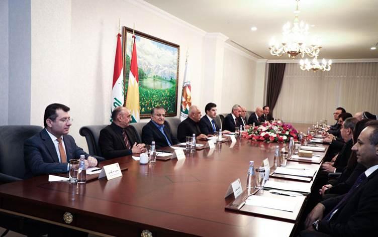 Neçirvan Barzani, siyasi partilerle Irak'ı masaya yatırdı