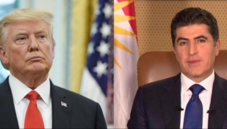 Trump'tan Başkan Neçirvan Barzani'ye mektup