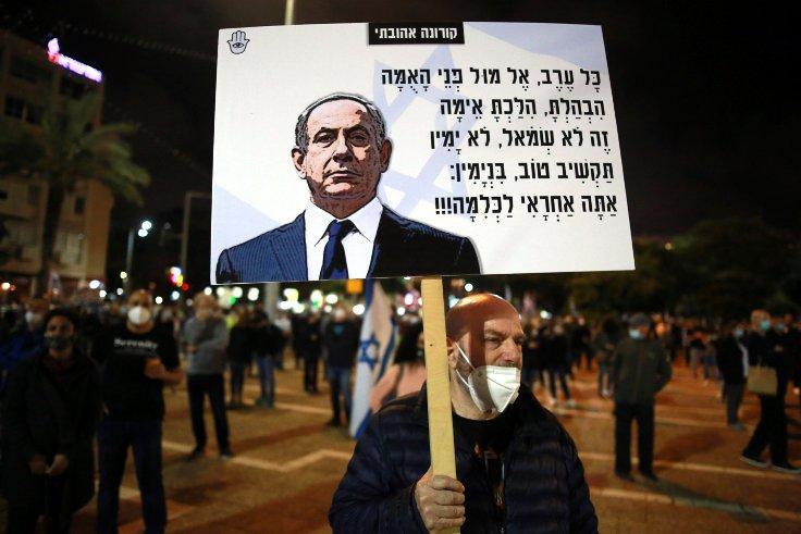 İsrail'de Netanyahu karşıtı protesto: Demokrasimizi öldürüyor