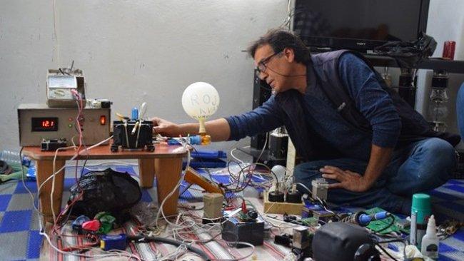Rojava'da mühendisler prototip solunum cihazı üretti
