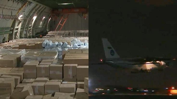 Rusya'dan ABD'ye dev yardım: Uçak yolda
