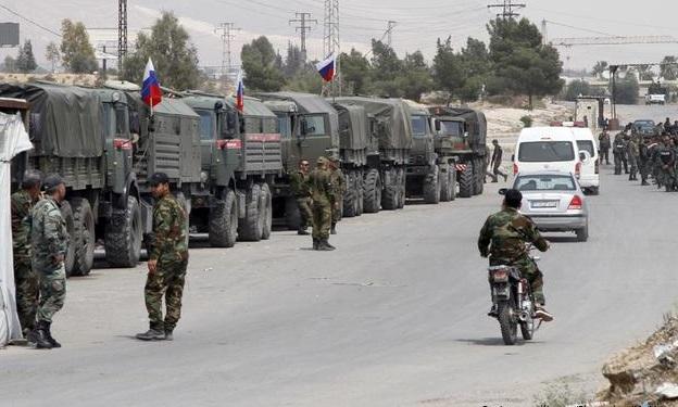 Rus askeri birlikler Serakib'e sevk edildi