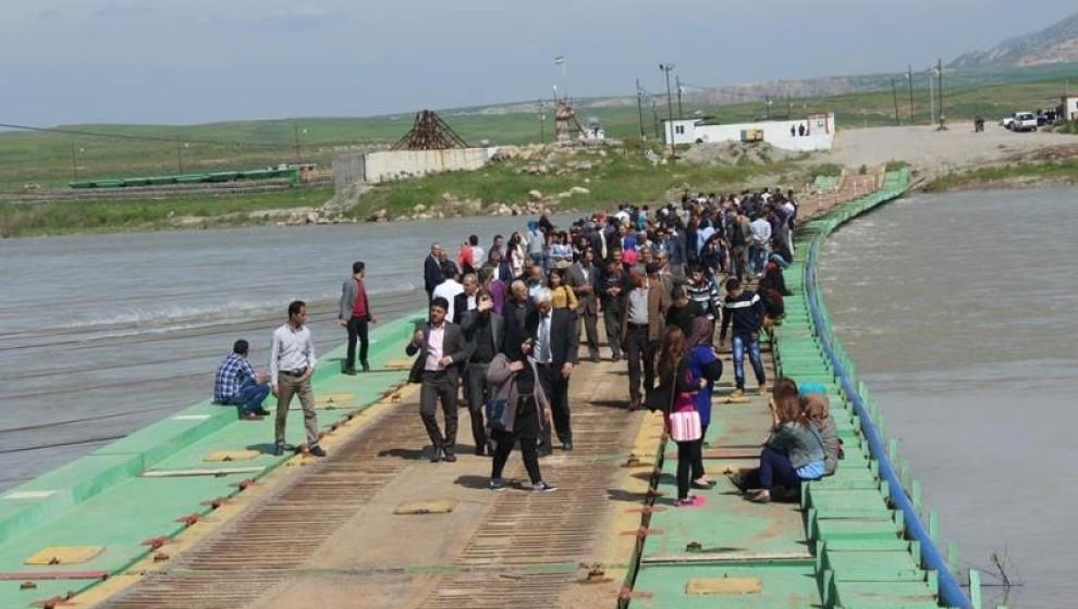 Kürdistan Bölgesi ile Rojava arasındaki sınır kapısı kapatıldı
