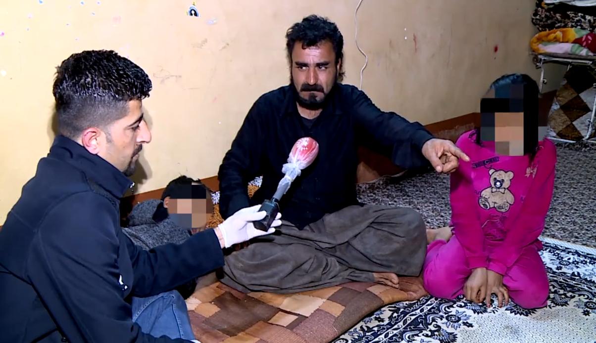 Kürdistan | İş insanından Süleymaniyeli aileye yardım eli