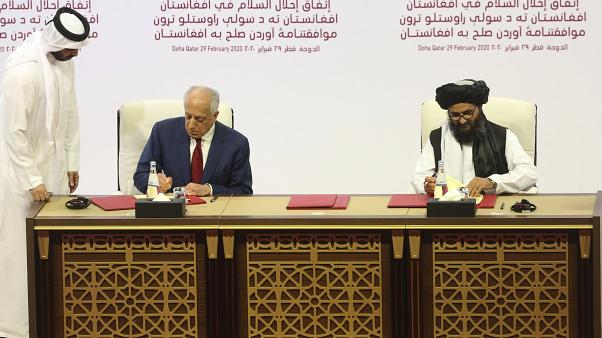 Taliban'dan ABD ile yapılan anlaşmaya ilişkin açıklama