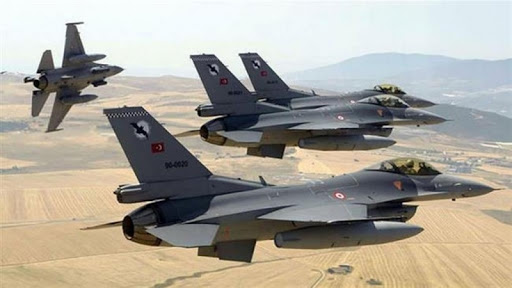 Erbil   TSK uçakları Sidekan bölgesini bombaladı
