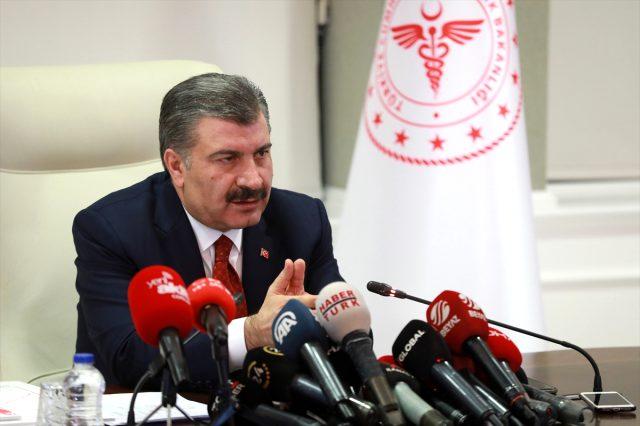 Türkiye'den Coronavirüs açıklaması