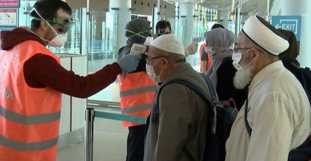 Türkiye'de 10 bin kişi karantinaya alındı