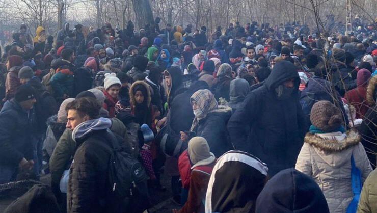 BM'den göçmen çağrısı: Aşırı güç kullanmayın...