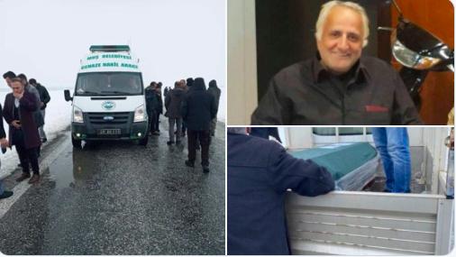 Kürt yazarın cenazesi araçtan indirildi, imam cenaze namazı kıldırmadı!