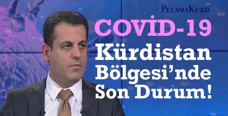 Erbil'de yeni Kovid-19 vakaları tespit edildi