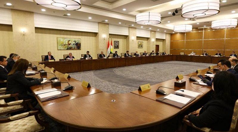 Bakanlar Kurulu Mesrur Barzani liderliğinde toplandı