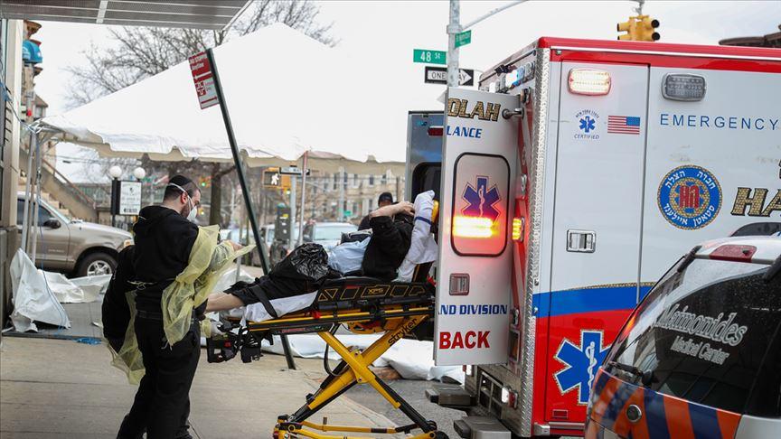 ABD'de bilanço ağırlaşıyor: Son 24 saatte 1339 ölü