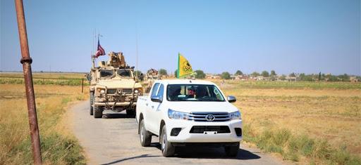 Suriye   Haseke'de ABD ve DSG devriye aracına saldırı